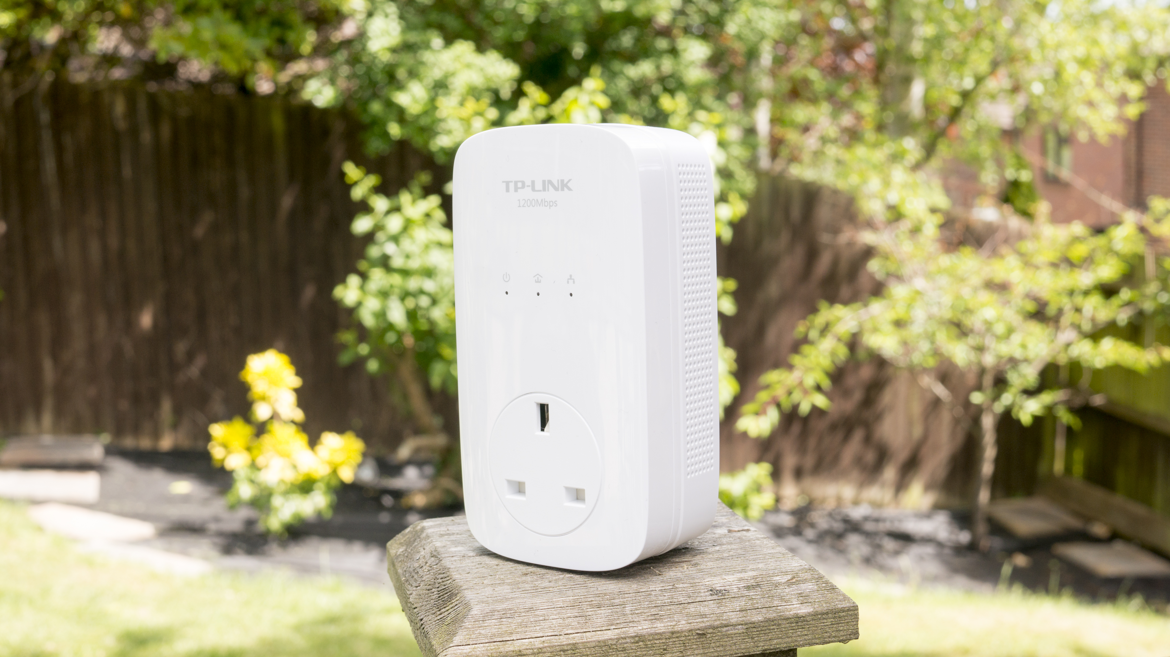 Tp Link Av1200 Powerline Adapters Review Broadband Modem All You Do Plug One In A Wall Socket Near The Internet Or Router Run Generously Long Ethernet Cable Between Two