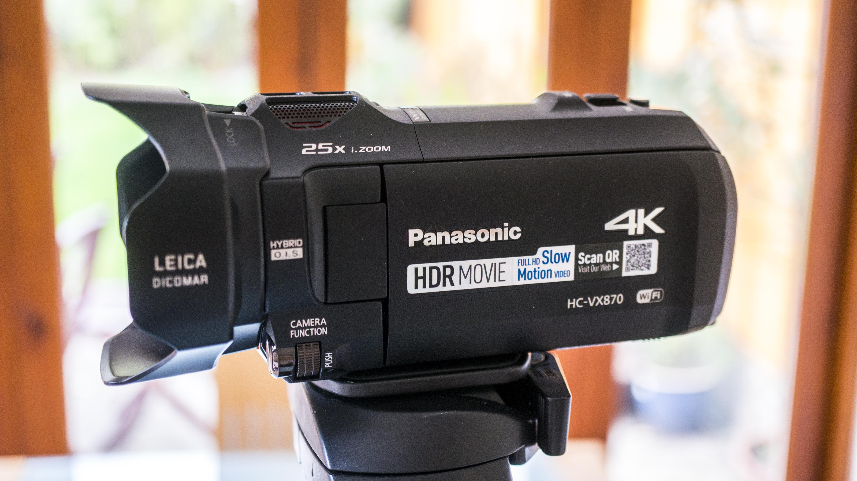 Panasonic VX870 4K Camcorder Review // TechNuovo.com