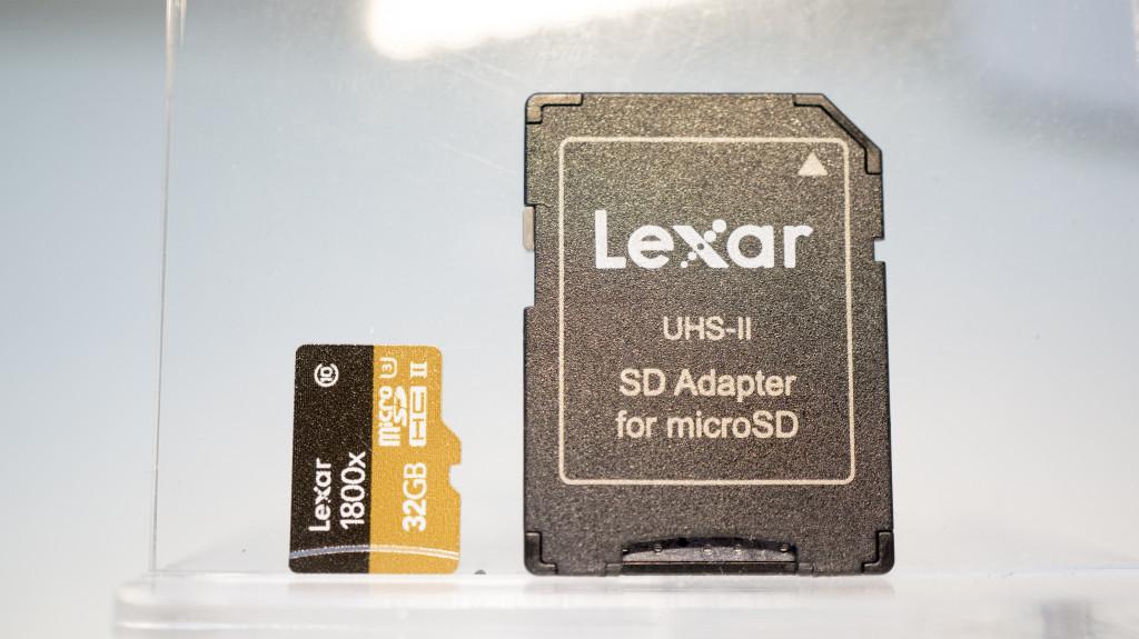 Lexar Professional 1800x microsd card 3