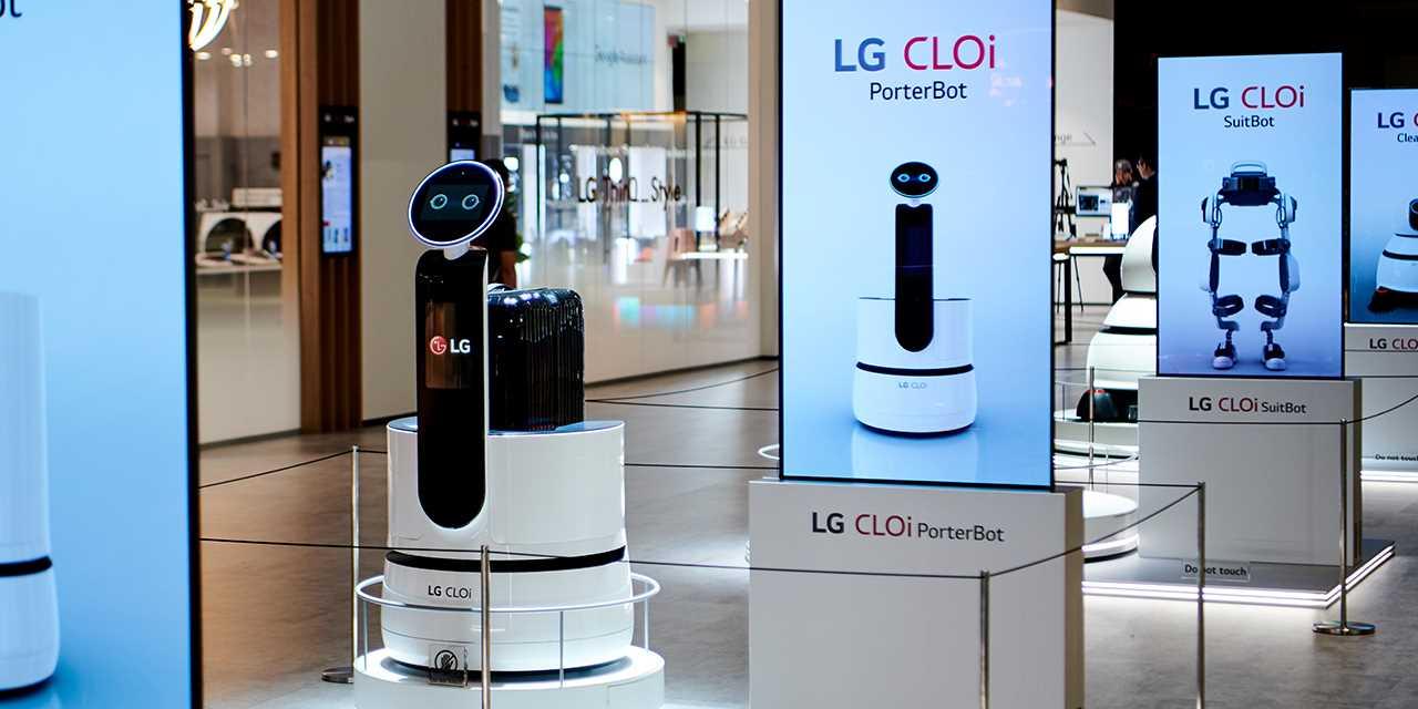 LG CLOi PorterBot