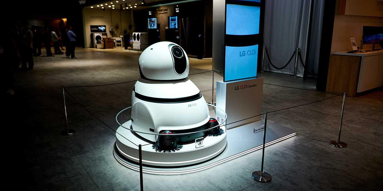LG CLOi CleanBot