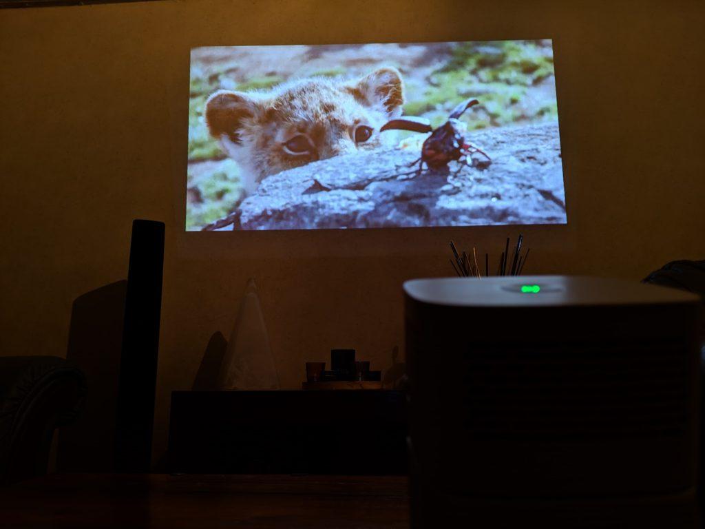 benq gv1 portable projector