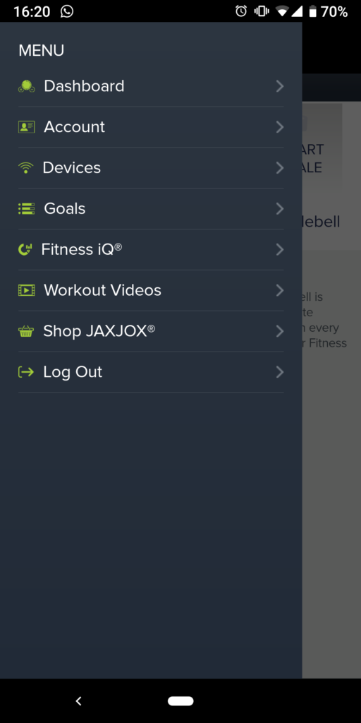 jaxjox kettlebell connect app