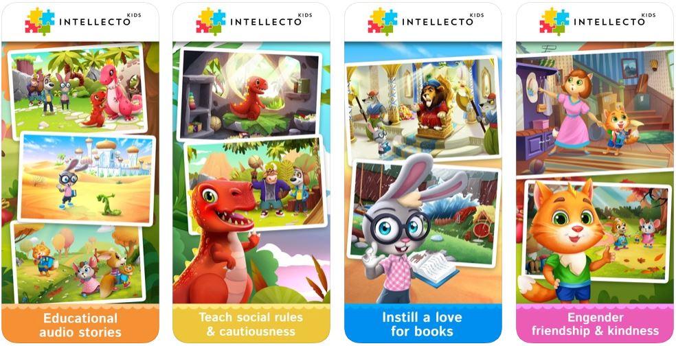 IntellectoKids Bedtime Stories
