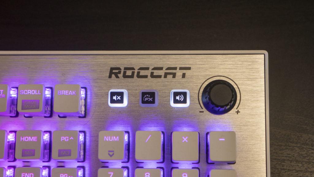 Roccat Vulcan 122 AIMO gaming keyboard