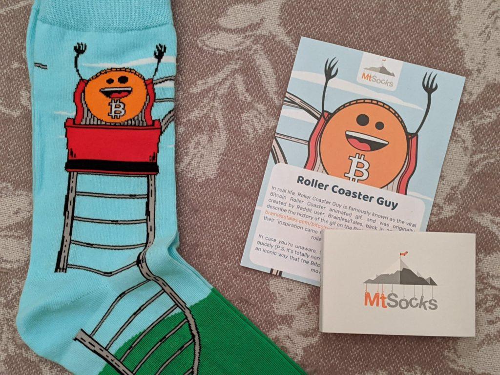 mtsocks rollercoaster guy bitcoin socks