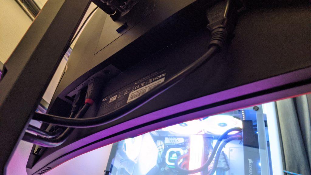 AOC CU34G2 Ultrawide Monitor