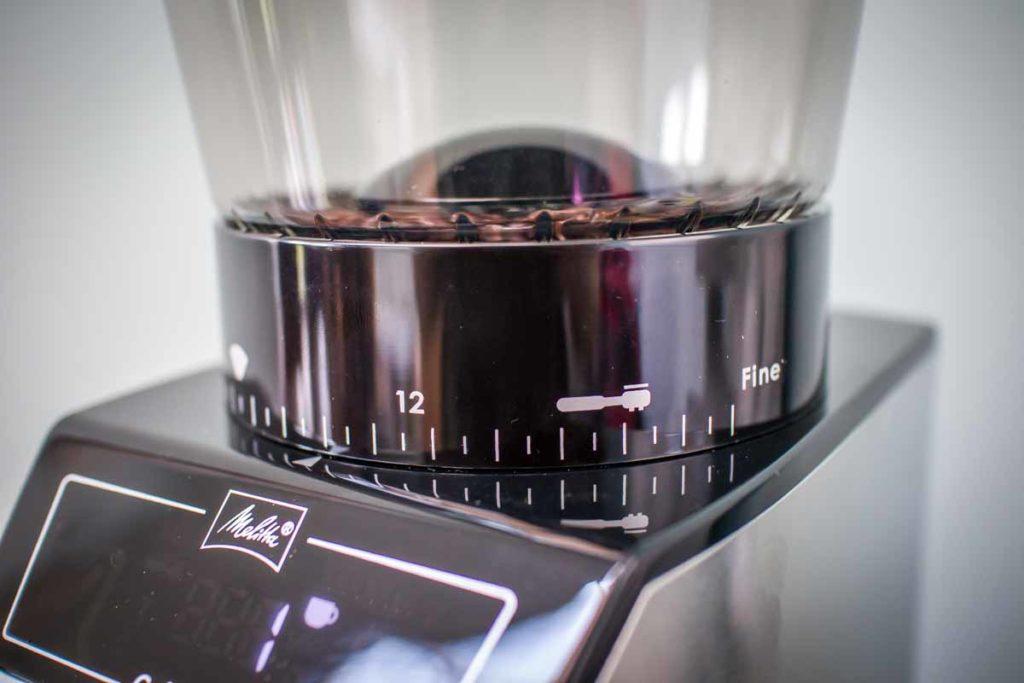 ميليتا كاليبرا مراجعة مطحنة القهوة 2